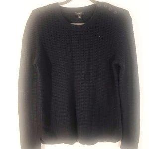 Talbots blue crewneck sweater